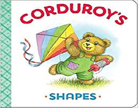 corduroys shapes book cover