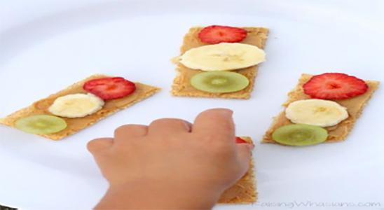 fruit finger snack