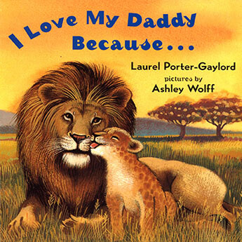 i love my daddy because book cover