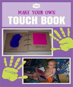 make your own touch book