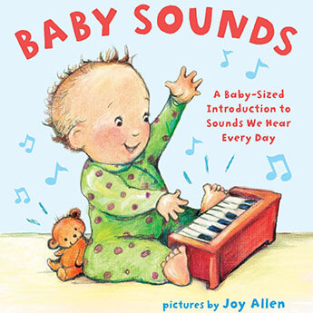 baby sounds book cover