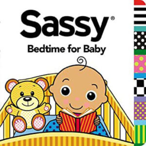 sassy bedtime for baby book cover