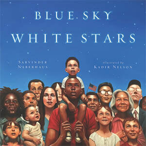 blue sky white stars ft img